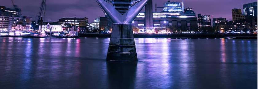 millenium bridge, london, thames river, river thames, thames